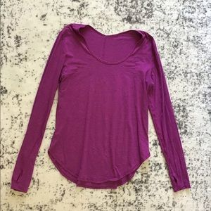 Lululemon Scoop Neck LS